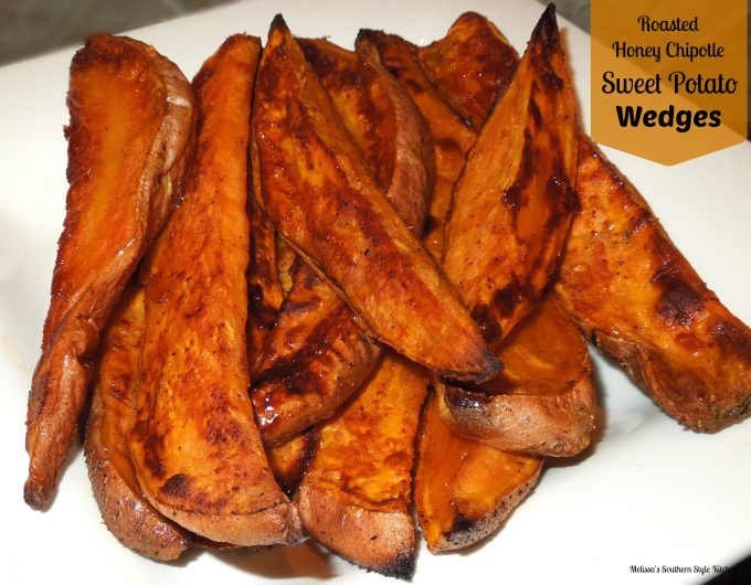 Roasted Honey-Chipotle Sweet Potato Wedges ...