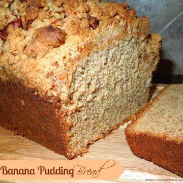 Southern Banana Pudding Bread