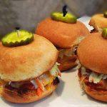 Barbecue Chicken Sliders recipe