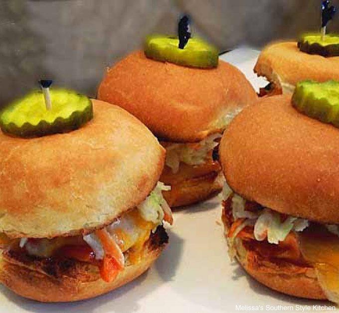 best Barbecue Chicken Sliders recipe