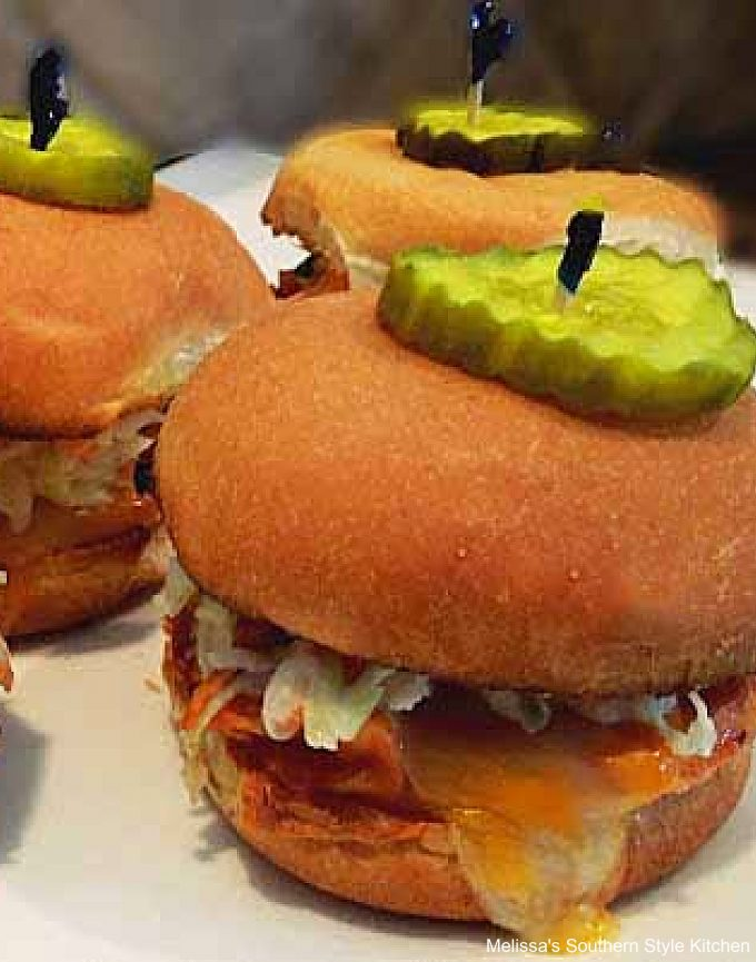 easy Barbecue Chicken Sliders