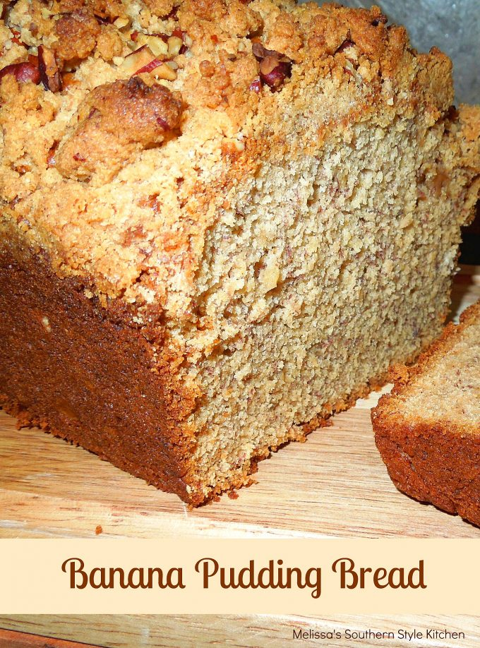 Banana pudding bread melissassouthernstylekitchen forumfinder Image collections