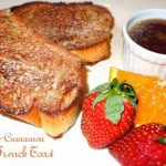 Orange Cinnamon Baked French Toast And Orange Syrup