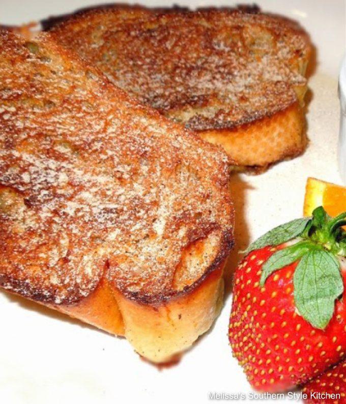 recipe for make ahead Cinnamon Orange French Toast