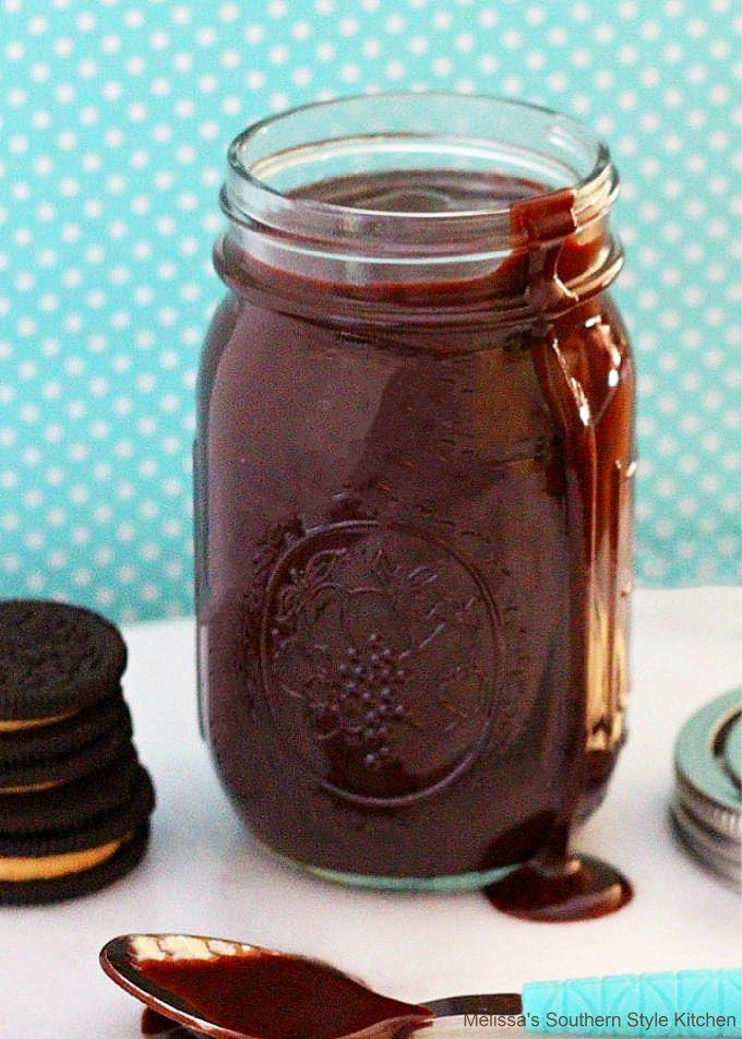 easy Dark Chocolate Fudge Sauce