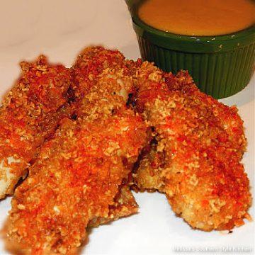 Honey Nut Chicken Strips recipe