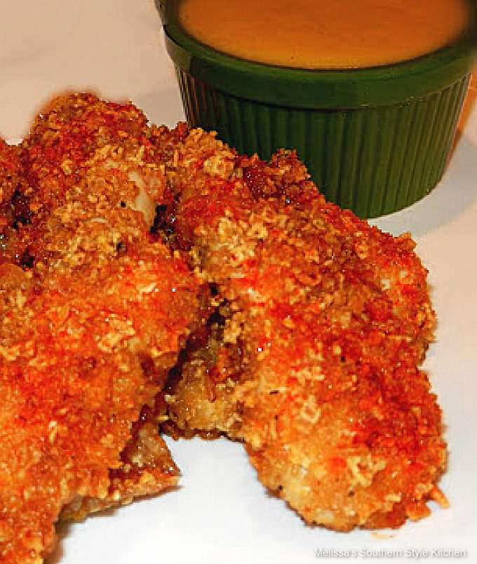 cereal coated chicken strips