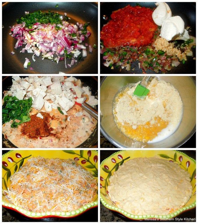 ingredients to make Chicken Tamale Pie