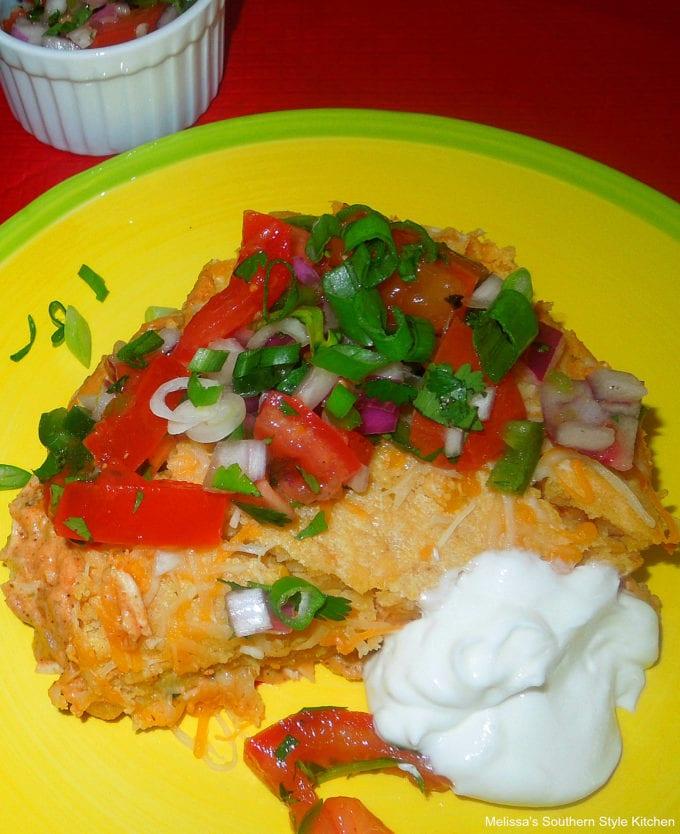 baked Chicken Tamale Pie