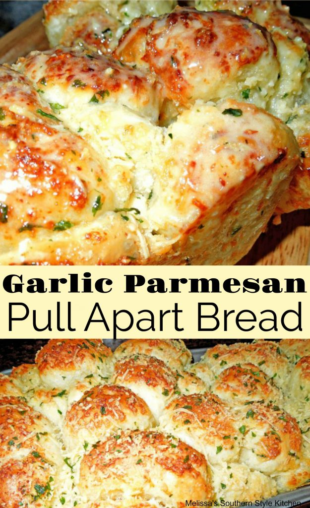 Garlic Parmesan Cheese Pull Apart Bread Using Rhodes
