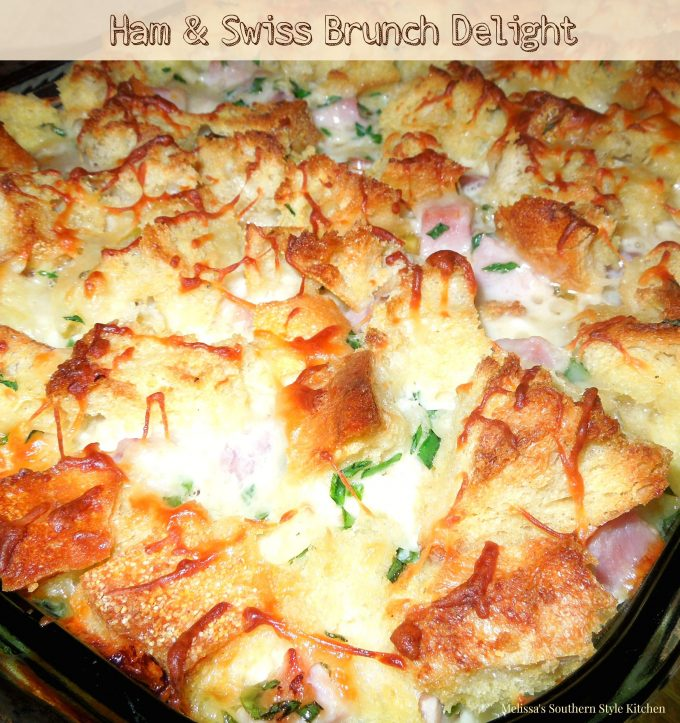 Ham And Swiss Brunch Delight