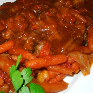 Recipe Smothered Sweet And Sour Pot Roast
