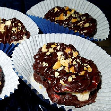 Chocolate Peanut Pretzel Ice Cream Sandwiches recipe