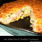 Iron Skillet Ham And Cheddar Cornbread Recipe