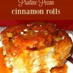 Praline Pecan Cinnamon Rolls