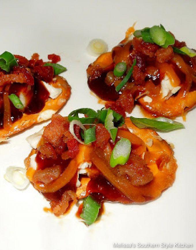 Maple-Chipotle Barbecue Chicken Appetizer Bites