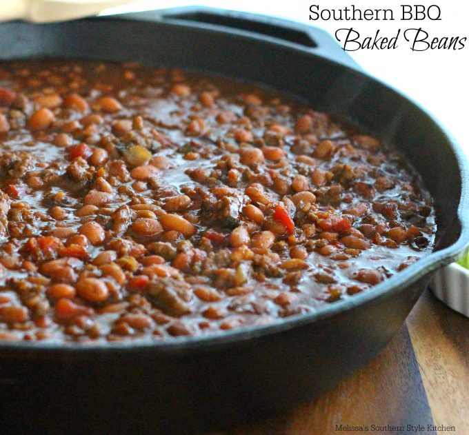 Southern Barbecue Baked Beans - melissassouthernstylekitchen.com