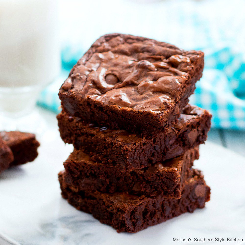 Ultimate Fudge Brownies Melissassouthernstylekitchen Com