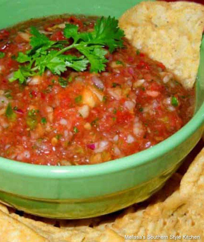 easy Peach and Tomato Salsa
