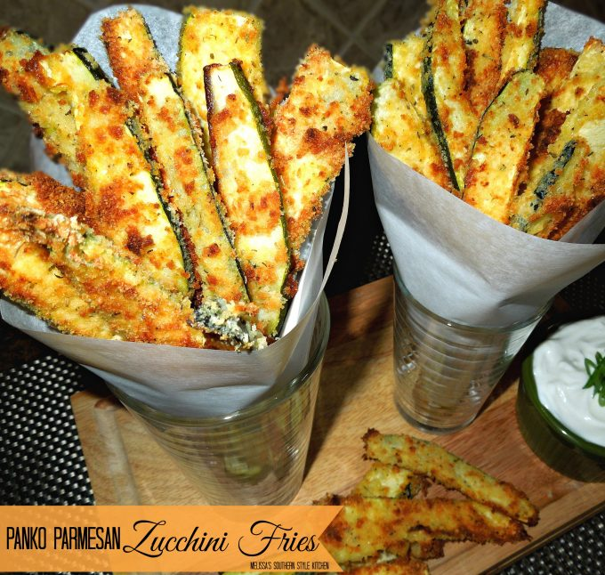 recipe: garlic parmesan zucchini fries [14]