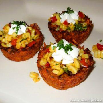 Creole Sweet Potato Nests