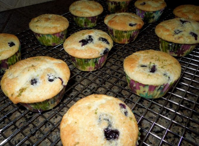 Blueberry Lime Buttermilk Muffins ...