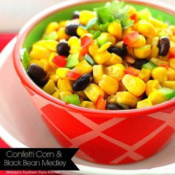 Confetti Corn and Black Beans recipe