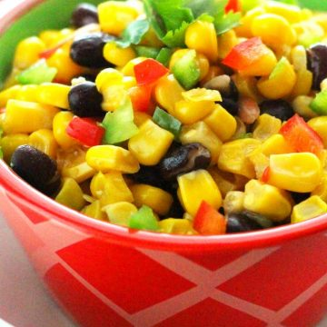 Confetti Corn And Black Bean Medley Recipe