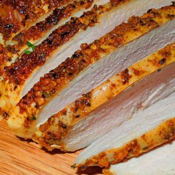 Roasted Mesquite Rubbed Pork Tenderloin