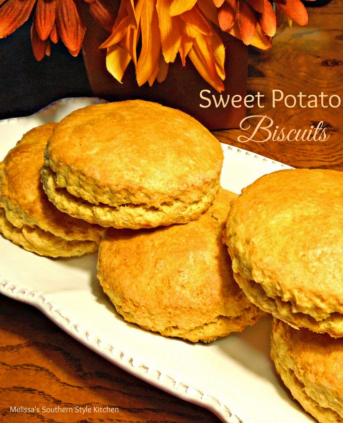 Sweet Potato Biscuits - melissassouthernstylekitchen.com