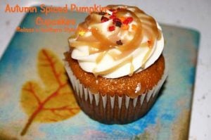 Wendy's Autumn Spiced Pumpkin Cupcakes