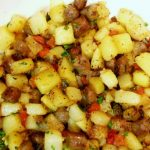 Logan's Sweet Sausage Fried Potato Hash