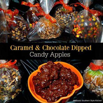 caramel-chocolate-dipped-apples