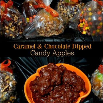 Caramel And Chocolate Dipped Apples Recipe