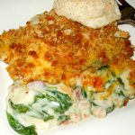 Recipe Turkey Bacon Spinach Casserole