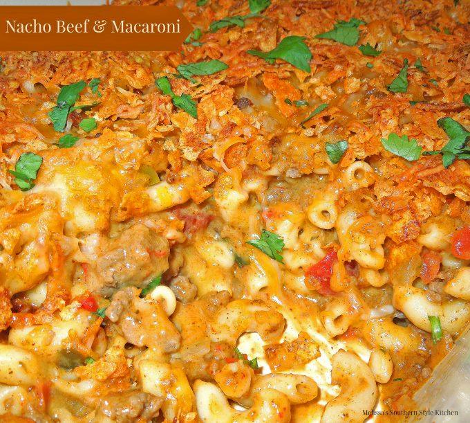 Nacho Beef And Macaroni