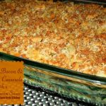 Turkey, Bacon And Spinach Casserole With A Gouda Cream Sauce