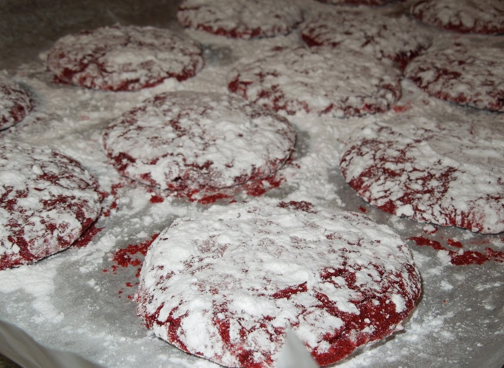 Wendy's Awesome Red Velvet Cookies