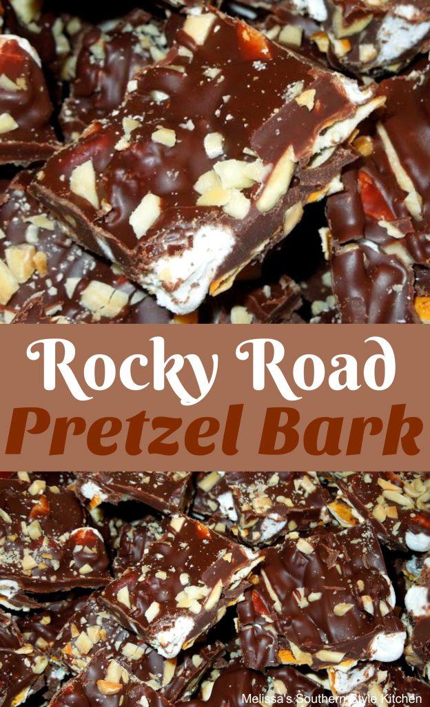 Rocky Road Pretzel Bark