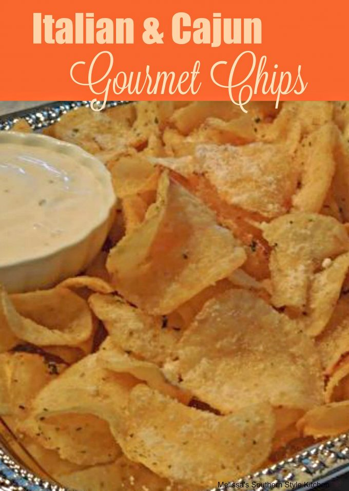 Italian And Cajun Gourmet Chips