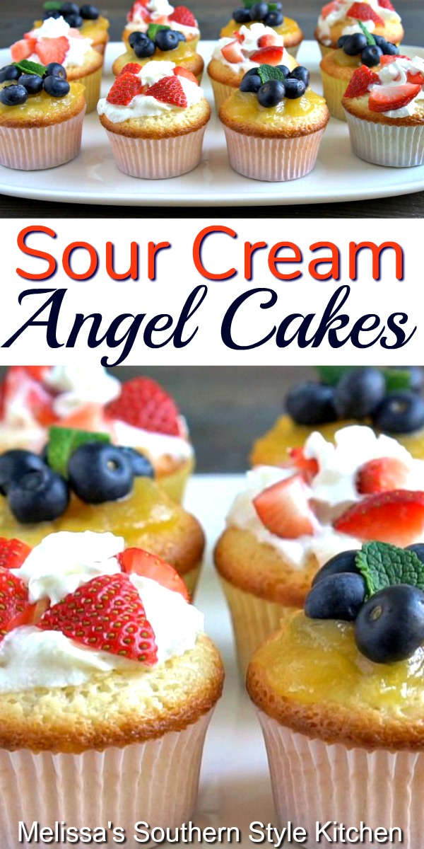 This cake mix hack is a winner every single time #angelfoodcake #angelcakes #sourcreamangelcakes #cakerecipes #cupcakes #springdesserts #summerdesserts #dessert #dessertfoodrecipes