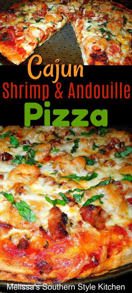 Cajun Shrimp and Andouille Pizza