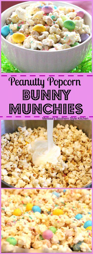 Peanutty Popcorn Bunny Munchies