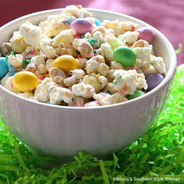 easy Peanutty Popcorn Bunny Munchies