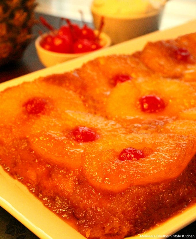 Pineapple Upside Down Cake