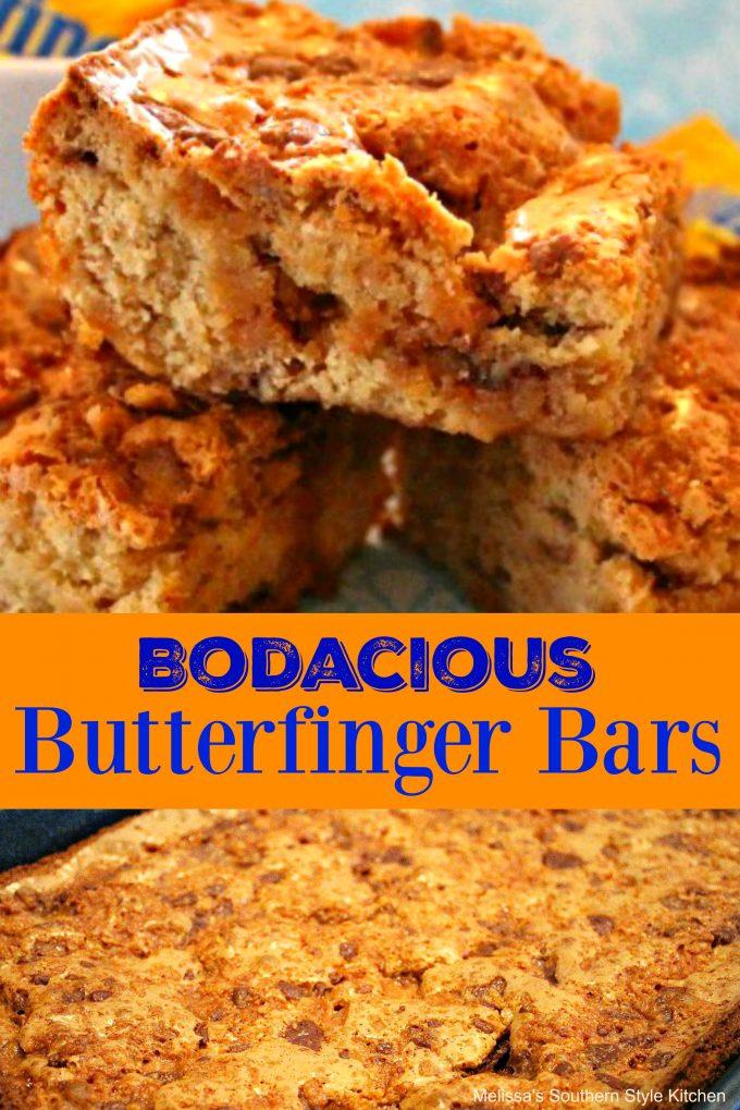 Bodacious Butterfinger Bars
