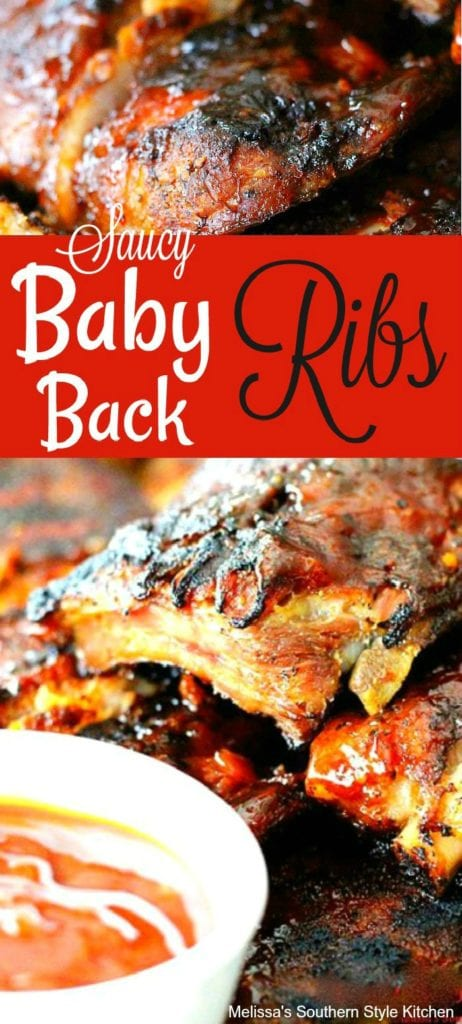Saucy Baby Back Ribs