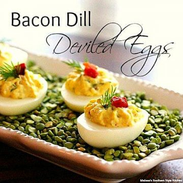 how to make Bacon Dill Deviled Eggs