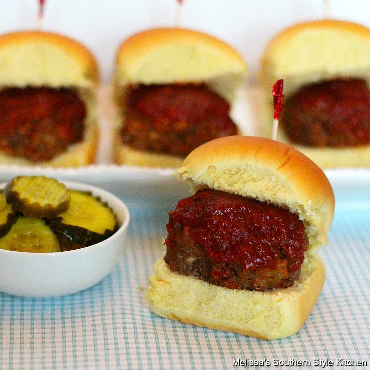 BBQ Meatloaf Sliders