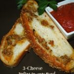 3 Cheese Italian Sausage Bread